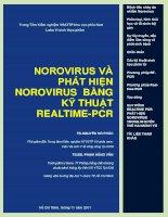 NOROVIRUS và PHÁT HIỆN NOROVIRUS BẰNG kỹ THUẬT REALTIME PCR