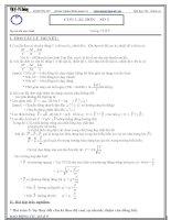 41 chuyên đề bài tập trắc nghiệm luyện thi đại học (có đáp án)