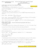 tổng hợp các đề thi thử đại học môn toán