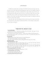 khảo sát và đánh giá chất lượng môi trường hồ công viên 29-3- đà nẵng