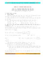 phương trình quy về phương trình bậc hai toán lớp 9