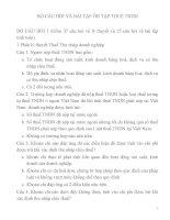 Bộ 37 câu hỏi về lý thuyết và 15 câu hỏi về bài tập ông thi thuế thu nhập doanh nghiệp