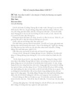 Một số truyện tham khảo GDCD 7