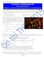 ĐỀ THI THỬ tốt NGHIỆP THPT QUỐC GIA năm 2015 đề số 4