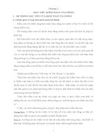 Bài giảng môn kiểm toán tài chính: Chương 2: Mục tiêu kiểm toán tài chính