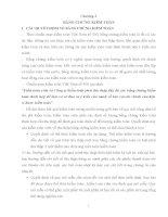 Bài giảng môn kiểm toán tài chính: Chương 3: Bằng chứng kiểm toán