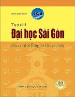 Các yếu tố tác động đến hiệu quả của một số chương trình hợp tác giữa các cơ sở giáo  dục Việt Nam và Hoa Kỳ