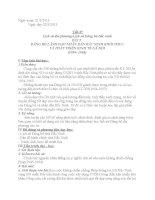Tiết 37:Lịch sử Đảng bộ Bắc Ninh(Bài 5-tiết 1)