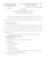 Kế hoạch tổ chức hội trại 26/3