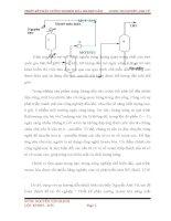 đồ án thiết kế phân xưởng isome hóa năng suất 100.000 tấn