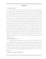 Khóa luận pháp luật về huy động vốn của các tổ chức tín dụng ở Việt Nam