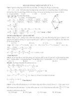 BT về hạt nhân nguyên tử P - 1