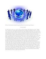 Mô hình kinh doanh thương mại điện tử của website mp3.zing.vn