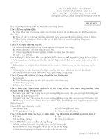 Đề thi và đáp án môn tài chính tiền tệ