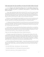 Tiếp nhận Truyện Kiều của Nguyễn Du dưới góc nhìn văn hóa