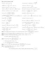bài tập phương trình lượng giác lớp 11 cb+nc. hot
