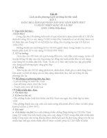 Tiết 38:Lịch sử Đảng bộ Bắc Ninh-Bài 5(tiết 2)