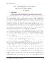 SÁNG KIẾN KINH NGHIỆM MỘT SỐ BIỆN PHÁP GIÚP HỌC SINH LỚP 3 HỌC TỐT PHÂN MÔN CHÍNH TẢ