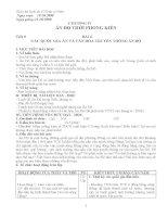 giáo án lịch sử 10 cơ bản