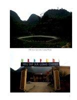 Lịch sử Đảng bộ xã Lũng Chinh