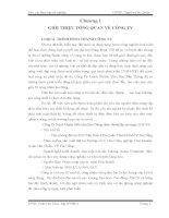 BÁO CÁO THỰC TẬP TỐT NGHIỆP NGÀNH ĐIỆN TRẠM BIẾN ÁP VÀ HỆ THỐNG PHỤ TẢI CỦA CÔNG TY TNHH BẢO THÔNG