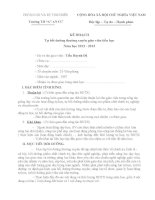 Kế  hoạch BDTX năm học 12-13