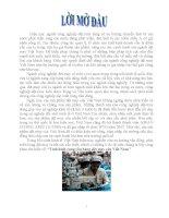 tiểu luận kinh tế vĩ mô tình hình cung cầu hàng dệt may của việt nam