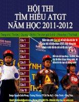 HOI GIANG HUYEN 10.11.2011Hoi thi thi An toan giao thong 2011.ppt