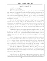 phương pháp dạy nghe trong môn tiếng anh thcs