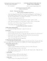 Kê hoạch CM tháng 3/2013