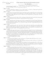 de thi HSG hóa tinh Thai Binh 2012-2013
