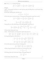 Tuyển tập các bài toán bất đẳng thức hay
