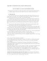 tìm hiểu tình hình thực hiện chính sách KHUYẾN KHÍCH PHÁT TRIỂN CHĂN NUÔI BÒ SỮA TRÊN ĐỊA BÀN THÀNH PHỐ HÀ NỘI