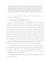 """NHỮNG VẤN ĐỀ VỀ CHỦ NGHĨA DUY VẬT BIỆN CHỨNG TRONG TÁC PHẨM """"BIỆN CHỨNG CỦA TỰ NHIÊN"""" CỦA PH. ĂNGGHEN. Ý NGHĨA ĐỐI VỚI CUỘC ĐẤU TRANH BẢO VỆ VÀ PHÁT TRIỂN CHỦ NGHĨA MÁCLÊNIN Ở NƯỚC TA TRONG GIAI ĐOẠN HIỆN NAY"""