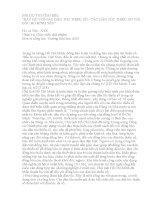 """BÀI DỰ THI TÌM HIỂU """"BÁC HỒ VỚI CÁC DÂN TỘC THIỂU SỐ - CÁC DÂN TỘC THIỂU SỐ VỚI BÁC HỒ KÍNH YÊU"""""""