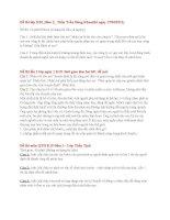 Tổng hợp đề thi và câu hỏi ôn tập môn Quản trị học