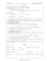 60 đề onthi TNTHPT(đáp án)