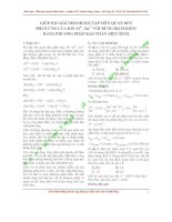 phương pháp giải nhanh bài tập liên quan đến muối nhôm và muối kẽm