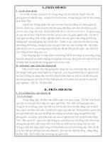 SKKN một vài lưu ý khi giảng dạy các yếu tố Hán Việt trong sách giáo khoa Ngữ Văn lớp 7 tập 1