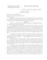BAI THU HOACH NQ TW 6 (KHOA XI)