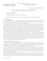 Bài thu hoạch nghị quyết TW 6 (khóa XI)