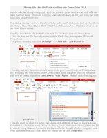 Hướng dẫn chèn file Flash vào Slide của PowerPoint 2013