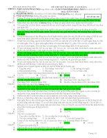 đề thi thử đại học lần 3 2013