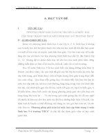 skkn PHƯƠNG PHÁP GIẢI TOÁN DI TRUYỀN LAI một, HAI cặp TÍNH TRẠNG TRONG môn SINH học 9 ở TRƯỜNG THCS