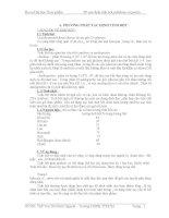 ĐỀ TÀI: Các phương pháp xác định tinh bột Cellulose và Pectin