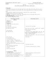 Giáo án môn tập đọc lớp 2 từ tuần 1 - 28