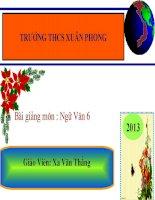 Tiết 114: Câu trần thuật đơn có từ là (Ngữ Văn 6)