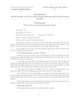 Bản đăng ký học tập và làm theo tấm gương đạo ức Hồ Chí Minh năm 2013