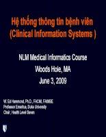 Hệ thống thông tin bệnh viên