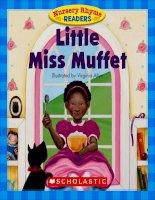 nursery rhyme readers little miss muffet